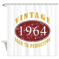 1964 Vintage (Red) Shower Curtain