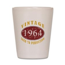 1964 Vintage (Red) Shot Glass