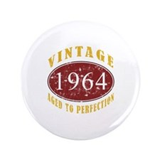 "1964 Vintage (Red) 3.5"" Button (100 pack)"
