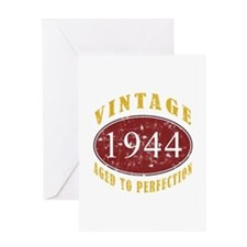 1944 Vintage (Red) Greeting Card