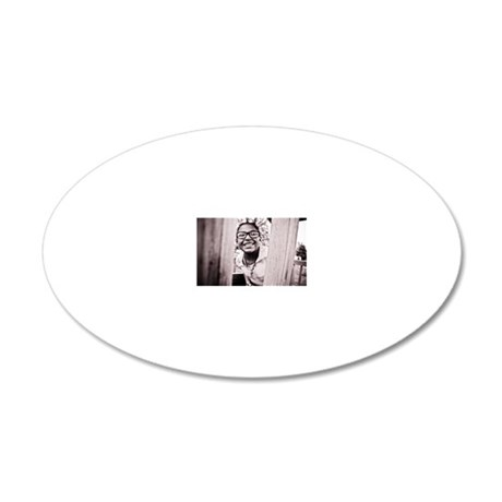 laney 20x12 Oval Wall Decal
