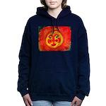 Sun Face Hooded Sweatshirt