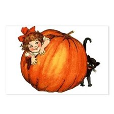Cute Cat girl Postcards (Package of 8)