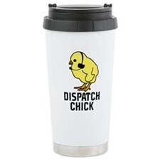 Cute Cop Stainless Steel Travel Mug
