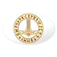 Mjölnir Rune Shield Decal