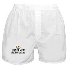 Under New Management Wedding Boxer Shorts