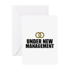 Under New Management Wedding Greeting Card