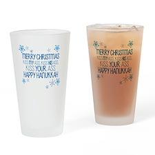 Merry Chirstmass Drinking Glass
