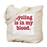 Funny Cycle Tote Bag
