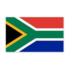 South Africa Flag 20X12 Wall Decal