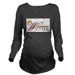 Goddess Long Sleeve Maternity T-Shirt