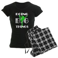 Doing BIG Things Lime Pajamas