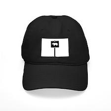 BLACK BEAR CROSSING SIGN Baseball Hat