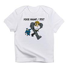 Police Arresting Criminal Cartoon Infant T-Shirt