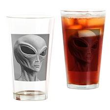 Alien Grey 11 Drinking Glass