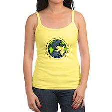 World Peace Gandhi - Funky Stroke Tank Top
