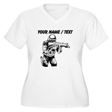 SWAT Team Officer Plus Size T-Shirt