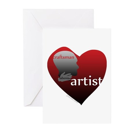 Art Takes Heart Greeting Cards (Pk of 10)