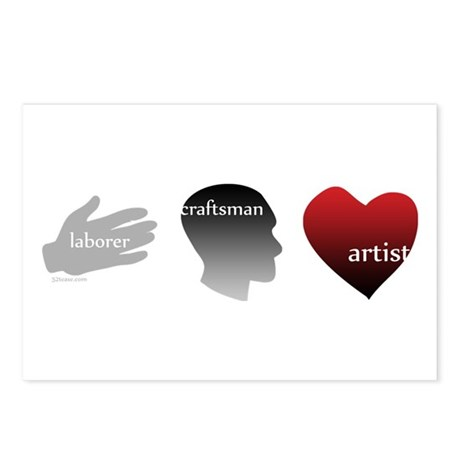 Art Takes Heart Postcards (Package of 8)