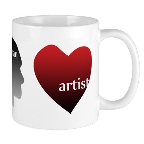 Art Takes Heart Mug