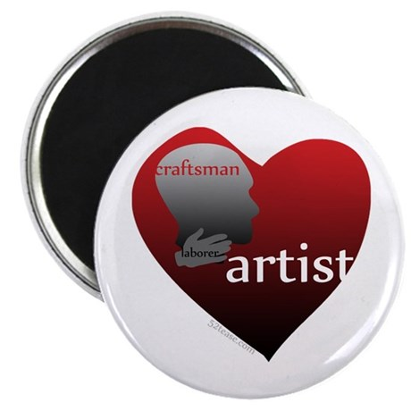 Art Takes Heart Magnet