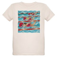 Little Swimmer Girls T-Shirt