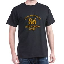 Funny 86 year old gift ideas T-Shirt