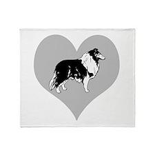 Love Collies Throw Blanket