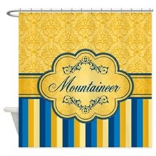 Posh Stripe Mountaineer Shower Curtain