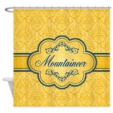 Posh Mountaineer Shower Curtain