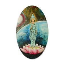 Quan Yin Wall Decal