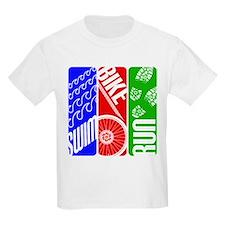 Triathlon TRI Swim Bike Run T-Shirt