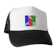 Triathlon TRI Swim Bike Run Trucker Hat