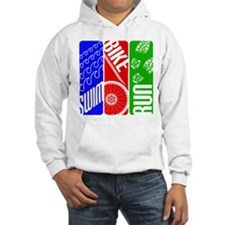 Triathlon TRI Swim Bike Run Hoodie