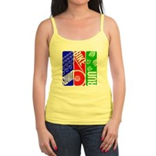 Triathlon TRI Swim Bike Run Tank Top