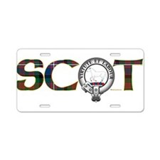 Cochrane Clan Aluminum License Plate
