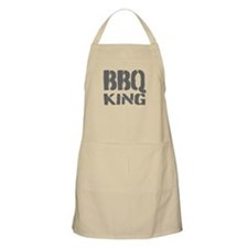 BBQ King Apron For Men | Kahki Beige