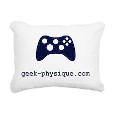 Gamer Geek Rectangular Canvas Pillow