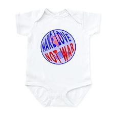 Make Love Infant Bodysuit