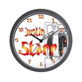 Justin Starr Wall Clock