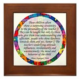 autism aspergers Framed Tile