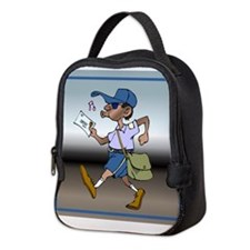 mailCarrierBLMaleTile.png Neoprene Lunch Bag