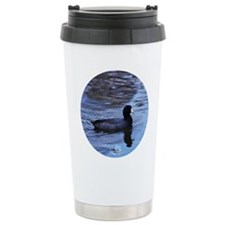 American Coot - Blue ...Travel Mug