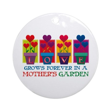 Mother's Garden Ornament (Round)