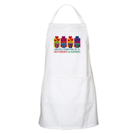 Mother's Garden BBQ Apron