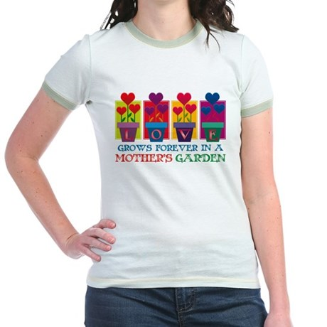 Mother's Garden Jr. Ringer T-Shirt