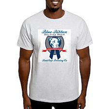 Blue Ribbon Pilsner Ash Grey T-Shirt
