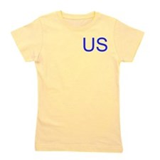 USA Yellow Girl's Tee