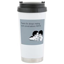 NSFW Stainless Steel Travel Mug