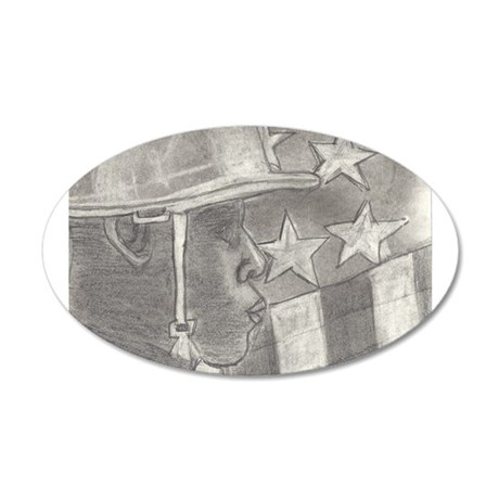 African American Soldier Wall Decal